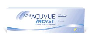 עדשות מגע יומיות Acuvue 1-day Moist