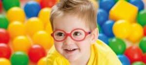 משקפיים לילדים מסיליקון nanovista nano baby