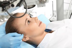 טיפול בקרטוקונוס בשיטת קרוס לינקינג