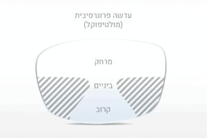 מבנה עדשות מולטיפוקל