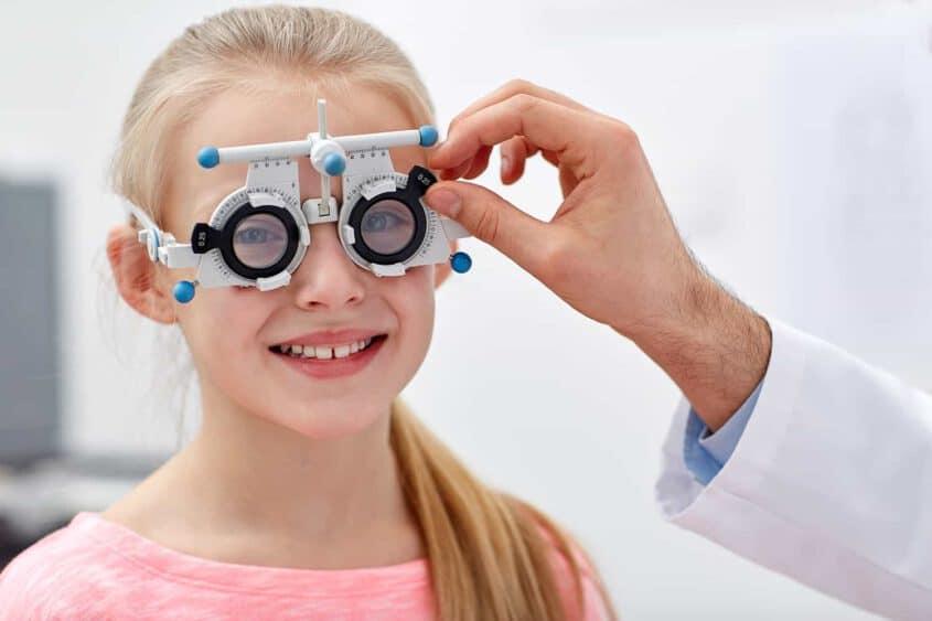 בדיקת ראייה לילדות