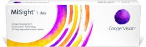 אריזת עדשות מגע CooperVision MiSight