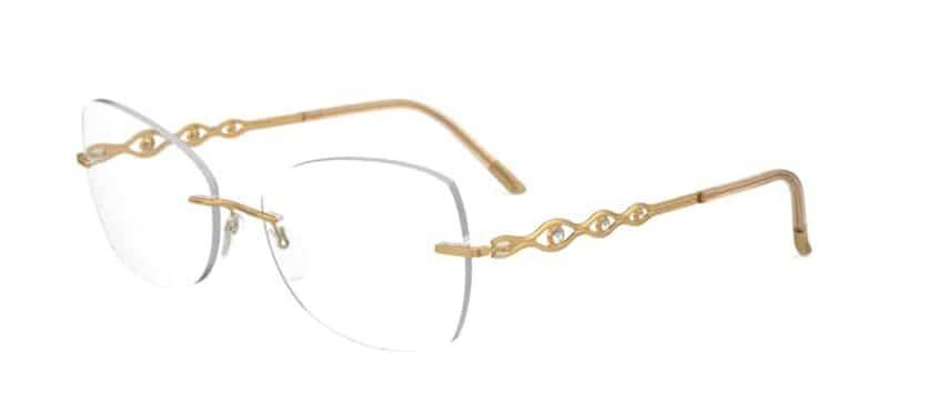 משקפיים קלים בלי מסגרת - סילואט